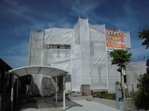 橿原市 築30年以上の屋根から雨漏り修理(シーリング)