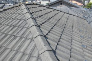 奈良県宇陀市 20年長持ちするガイナで屋根塗装工事