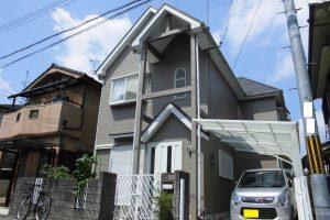 【屋根塗装,外壁塗装】奈良県橿原市K様邸 外壁屋根塗り替え工事