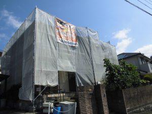 【屋根修理,屋根工事,雨漏り修理】奈良県宇陀市S様 カラーベスト屋根の差し替え工事