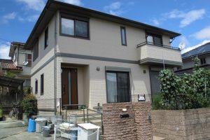 【外壁塗装,外壁修理】奈良県宇陀市S様邸 外壁塗り替え工事