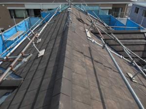 【屋根リフォーム・屋根工事・屋根修理・雨漏り修理】奈良県桜井市T様邸 屋根の修理工事です。