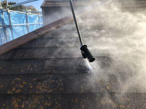 伊賀市 シリコン塗料でスレート屋根に塗装リフォーム