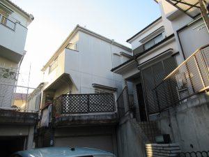 奈良県生駒市 一軒家の屋根瓦と外壁の点検と見積もり