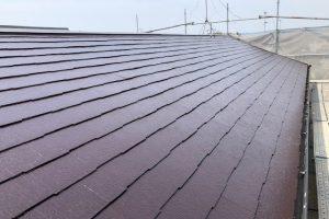 奈良市 耐用年数25年の遮熱塗料をスレート屋根に塗装