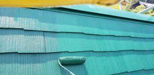 奈良県宇陀市 汚れにくいシリコン塗料で屋根塗装
