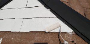 橿原市 下塗り2回で長持ちさせる屋根塗装リフォーム