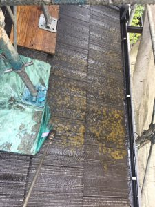 奈良市 モニエル屋根瓦の塗装で失敗しないための高圧洗浄