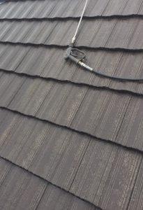 奈良県磯城郡田原本町Y様の屋根瓦塗装