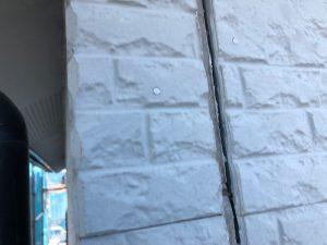 桜井市 30年長持ちするコーキング材で外壁を修理