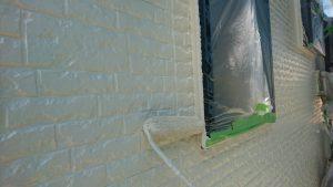 桜井市 耐用年数15年のシリコン塗料で外壁塗装工事
