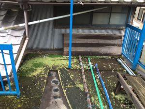 奈良県橿原市FRP防水工事前