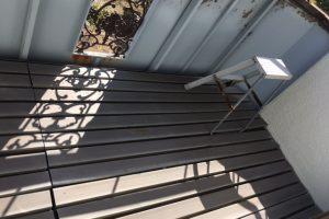 【雨漏り修理,防水工事】奈良県橿原市N様邸 ベランダFRP防水工事