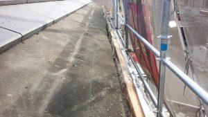 奈良県橿原市K様 雨漏り修理 瓦めくり2