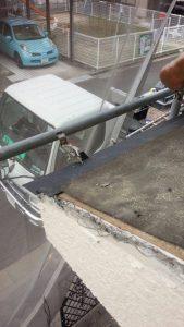 奈良県橿原市K様 雨漏り修理 水切りを入れる