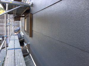三重県名張市Y様 外壁塗装 上塗り塗装2