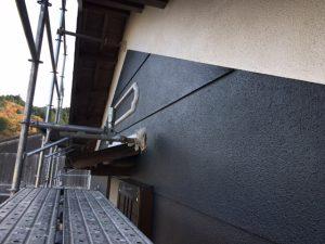 三重県名張市Y様 外壁塗装 上塗り塗装1