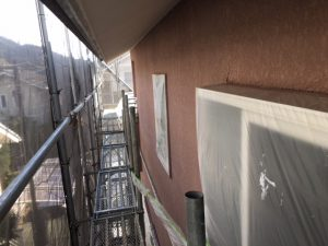 奈良県橿原市 断熱セラミックガイナを塗装4