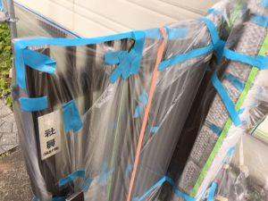 奈良県橿原市 外壁塗装用養生シート張り4