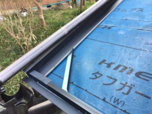 奈良県桜井市 屋根工事 水切り取り付け1