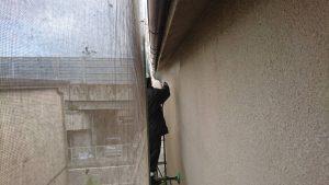 橿原市 外壁塗装前の高圧洗浄2