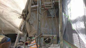 奈良県橿原市 外壁に水性カチオンシーラー塗装3