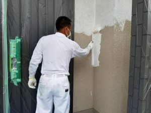 奈良県橿原市 下塗り塗装1