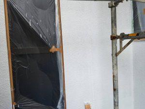 橿原市 外壁下塗り塗装2回目4