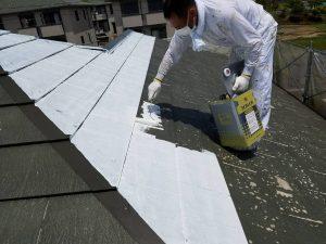 名張市 業者が言わない屋根塗装前に長持ちさせる下地調整