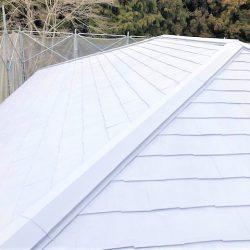 奈良県宇陀市 20年持つ断熱と遮熱のガイナを屋根塗装
