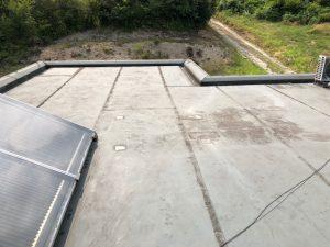 橿原市 陸屋根の点検1
