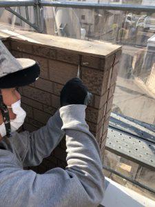 奈良市 雨漏り防止に30年持つシーリング材で外壁修理