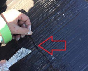 三重県名張市 屋根塗装後に雨漏り?タスペーサーで縁切り